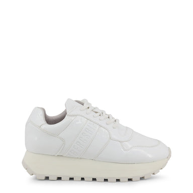 Bikkembergs Fender Patent Trainers in White