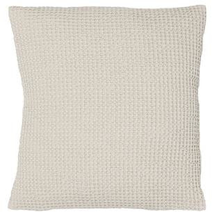 Maia Elegant Stonewashed Cushion Cover in Ivory