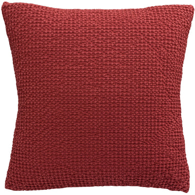 Cushion Cover Stonewashed Maia Red