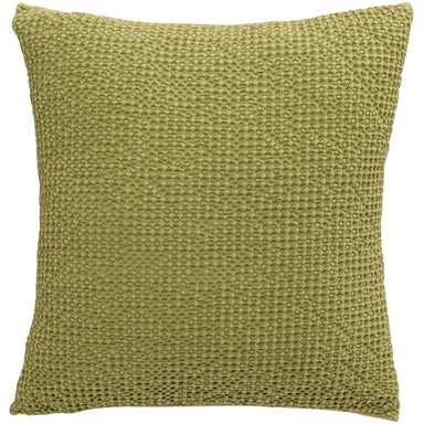 Cushion Cover Stonewashed Maia Lime Green