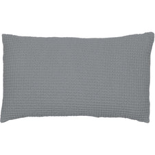 Maia Elegant Stonewashed Cushion Cover in Grey