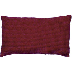 Cushion Cover Stonewashed Maia Red Wine