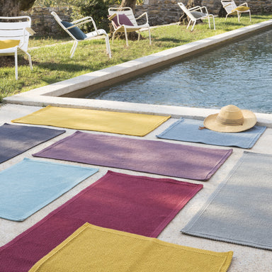 Vivaraise Bathroom Mats Etia Chalk