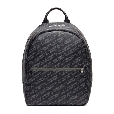 Emporio Armani Mens Backpack Black
