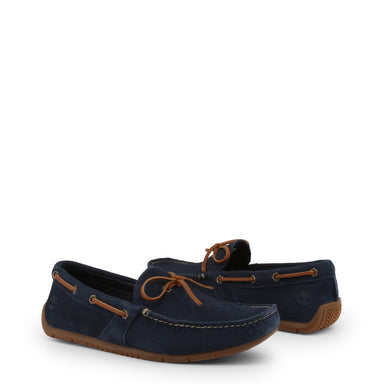 Timberland Lemans Suede Loafers in Navy