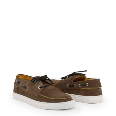 U.S. Polo Suede Boat Shoes in Brown