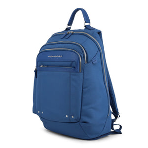 Piquadro Multi-pocket Backpack in Blue