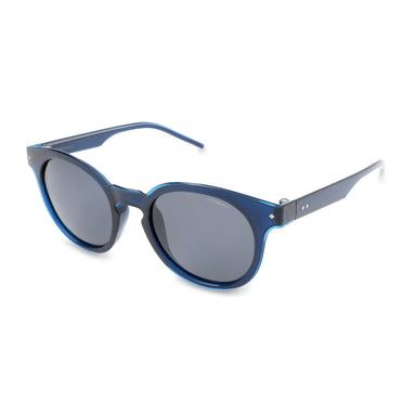 Polaroid Round Sunglasses in Blue