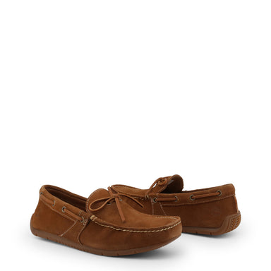 Timberland Lemans Suede Loafers in Brown
