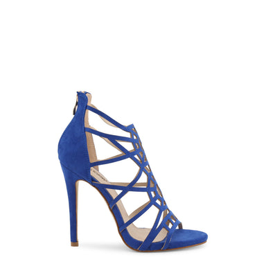 Arnaldo Toscani High Heel Cross Strappy Sandals in Blue