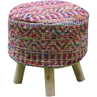 Stool Cover Sarah Multicolore 40 X 40 X 40 cm