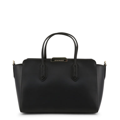 Emporio Armani Winged Handbag in Black
