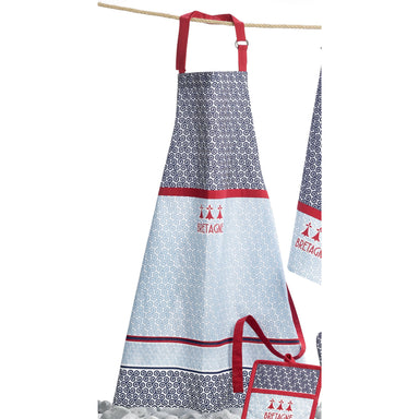 Kitchen Apron Triskel Red  72 X 85cm