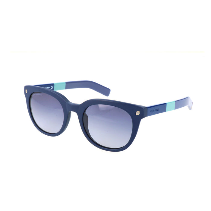 Dsquared2 Round Sunglasses in Blue