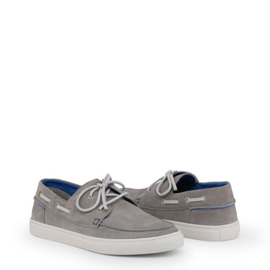 U.S. Polo Suede Boat Shoes in Grey