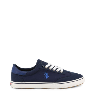 U.S. Polo MARCS Canvas Trainers in Navy