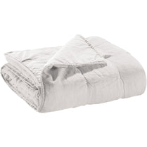 Cotton Bed Runner Stonewashed Zeff Craie 90 x 240