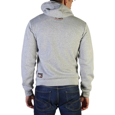 Geographical Norway Gasado_man Hoodie in Grey