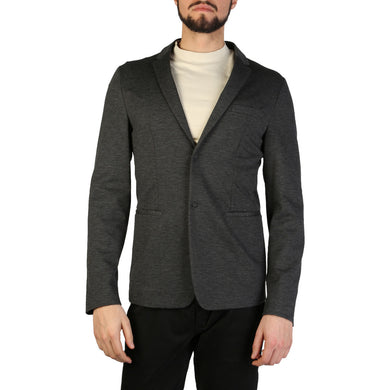 Emporio Armani Mens Formal Jacket Grey