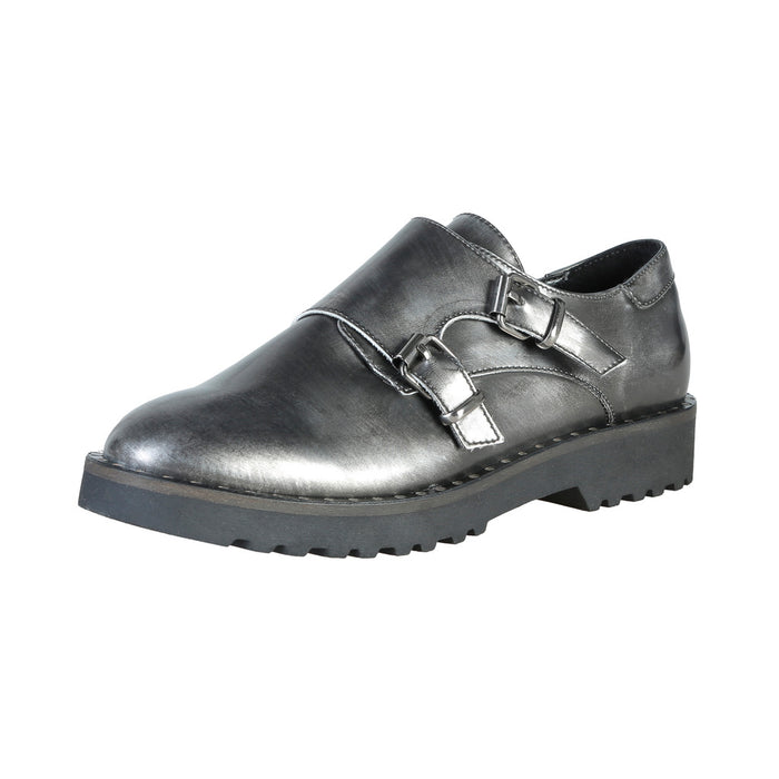 Ana Lublin Edit Shoes with Buckles Brushed Grey