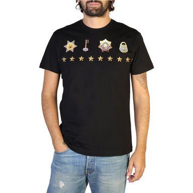 Versace Jeans Crew Neck T-shirt in Black