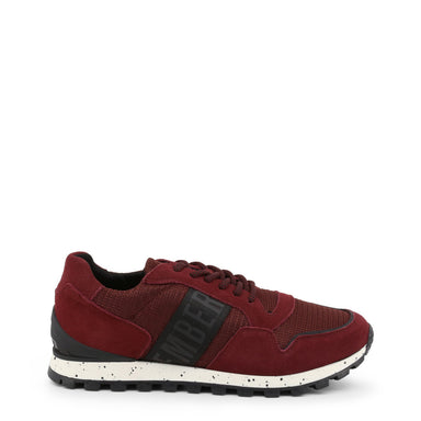 Bikkembergs Fender Suede Trainers in Red