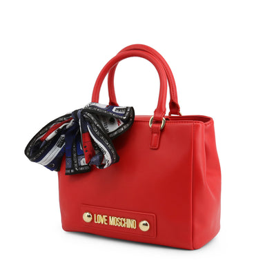 Love Moschino Bow Detail Handbag in Red