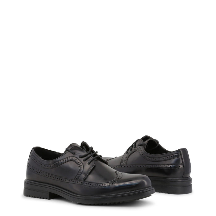 Duca di Morrone Lace Up Shoes in Black