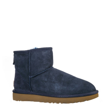 UGG Classic Mini Ankle Boots Navy