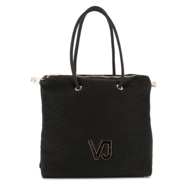 Versace Jeans Shopping Bag in Black