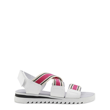Ana Lublin - MARCIA White/Pink Chunky Sandals