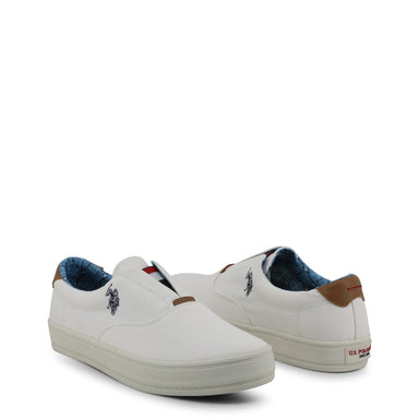 U.S. Polo Galan Slip On Trainers in White