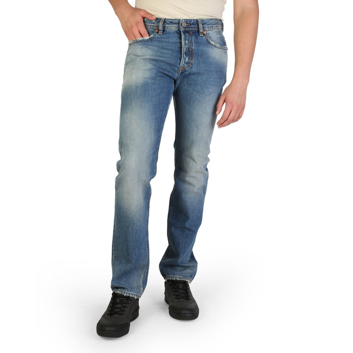 Diesel Buster L32 Straight Jeans in Blue