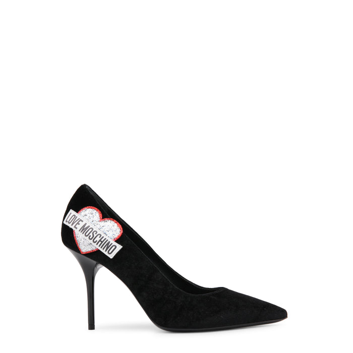 Love Moschino High Heel Aplique Shoes
