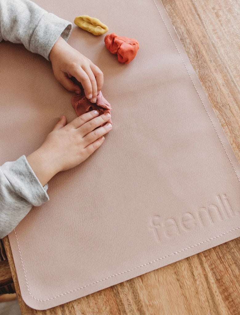 Mini Leather Mat