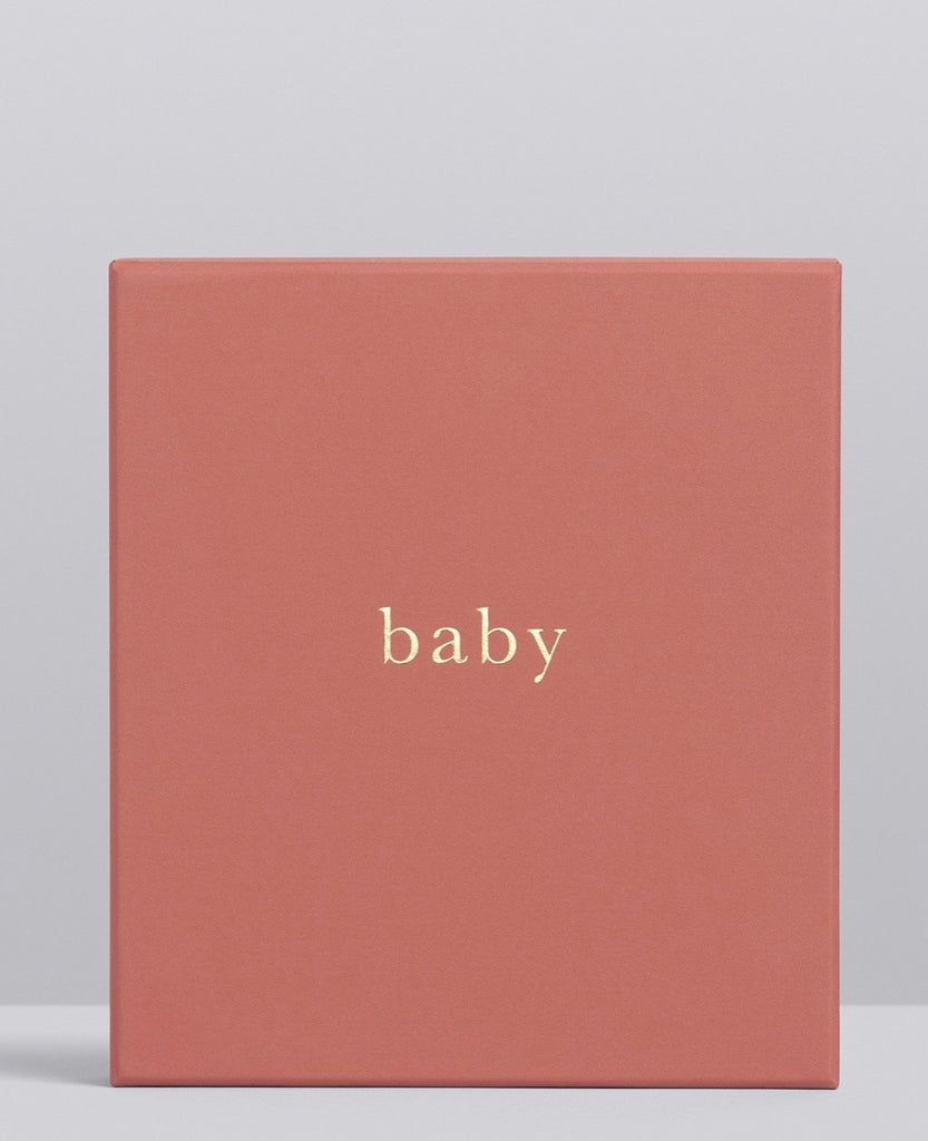 Boxed Baby Journal | Your First Five Years | Blush