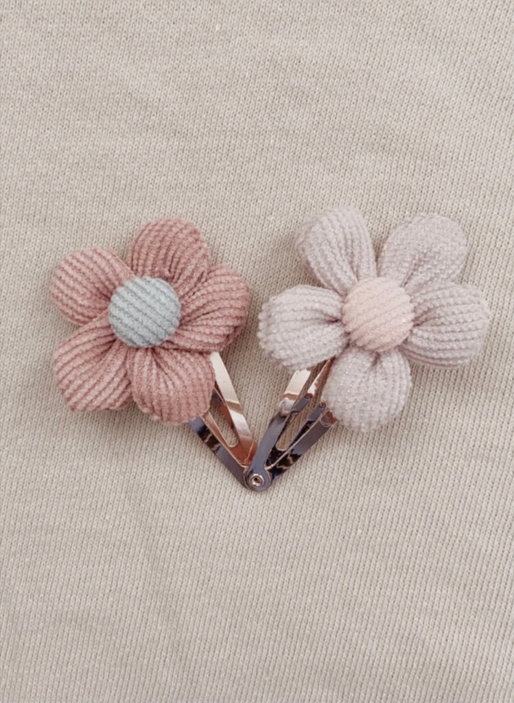Lola flower clips - Mae and Rae