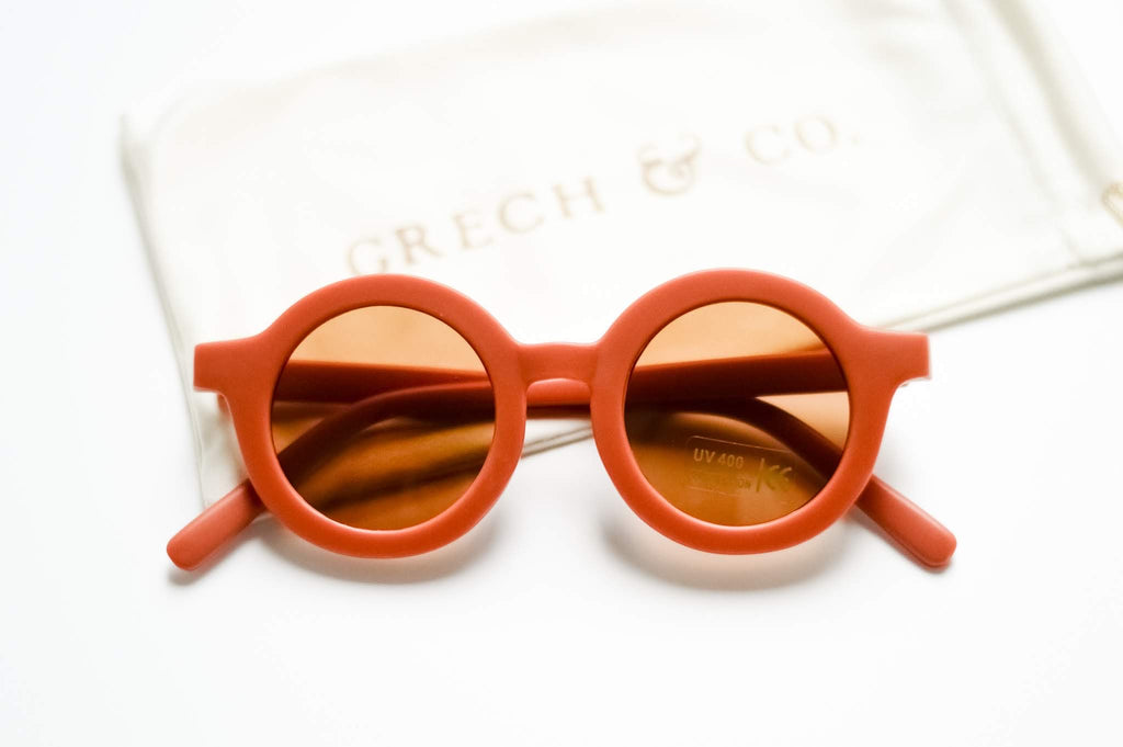 Grech and Co - Sustainable Sunglasses - Rust