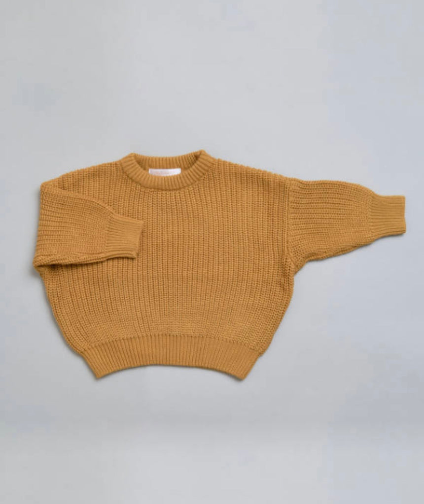 Knit Jumper - Toffee