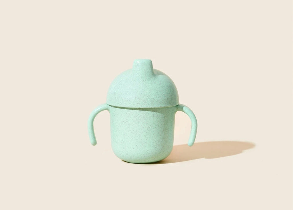 Wheat Straw Sippy Cup - Seafoam