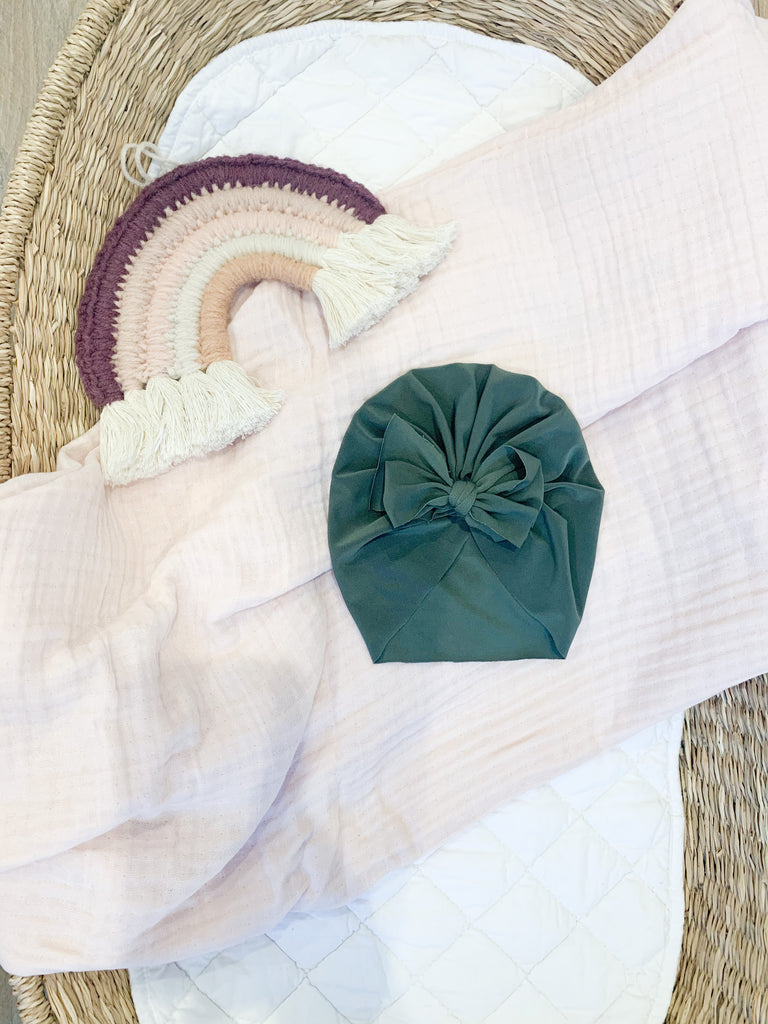 Ilukaco Head Turban - Olive