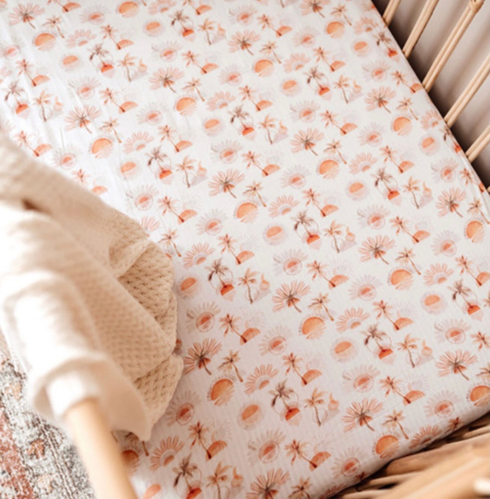 Paradise - Fitted Cot Sheet