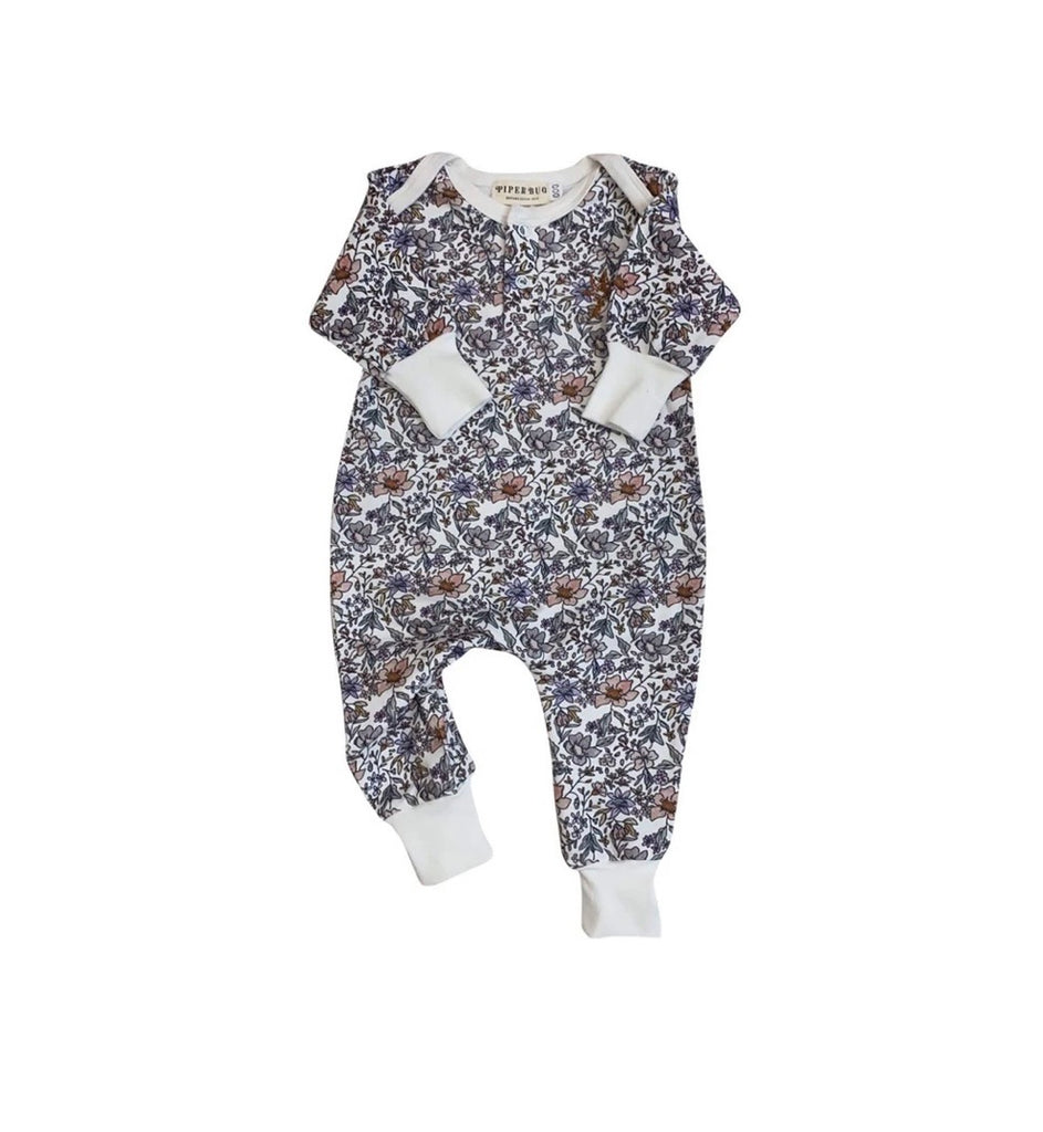Piper Bug Blowas Long Sleeve Romper