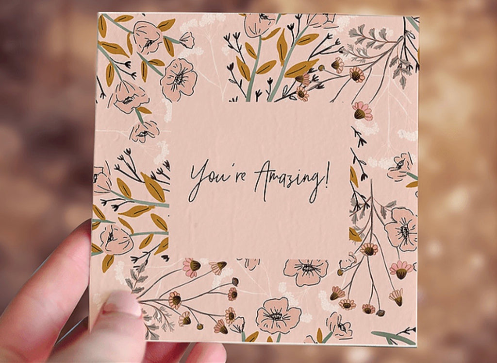 Plantable Card - You're Amazing Gift Card