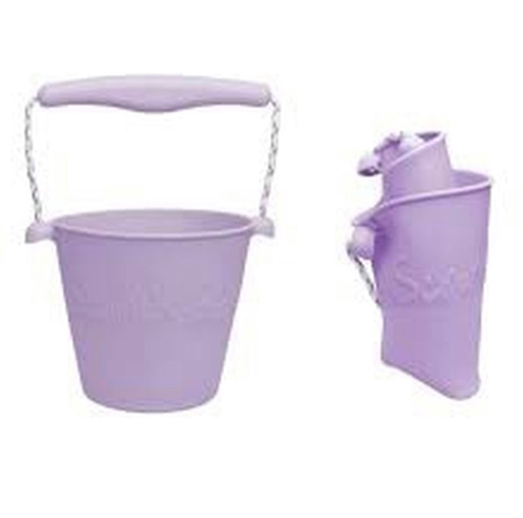 Scrunch Bucket - Dusty Lilac