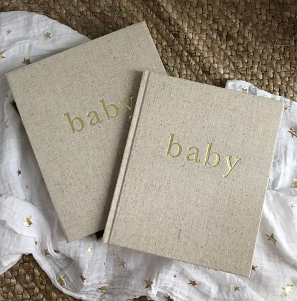 Write to me - Baby - First year of you journal
