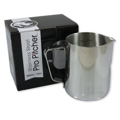 Rhino® Professional Milk Pitcher - 12oz/360ml