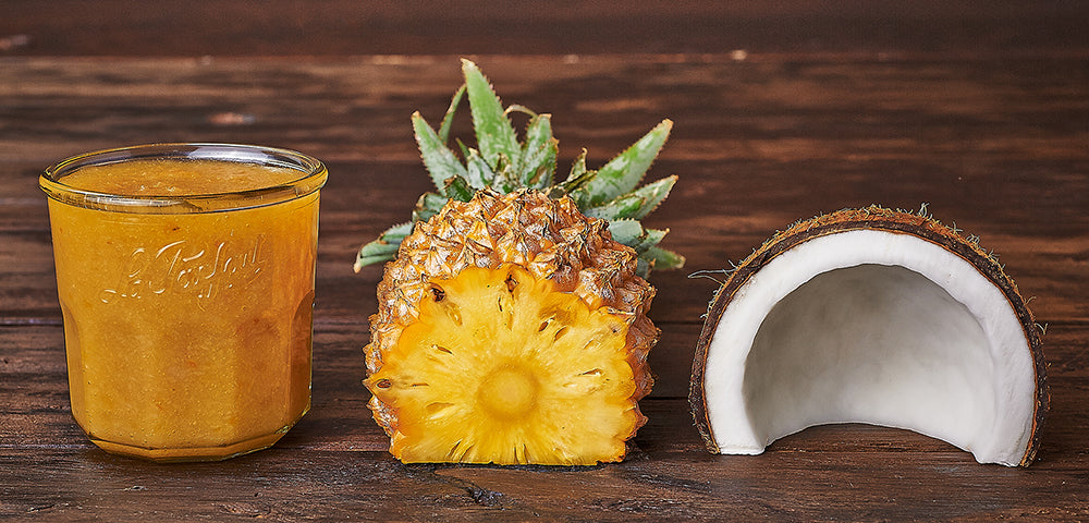 Confiture Ananas-Coco