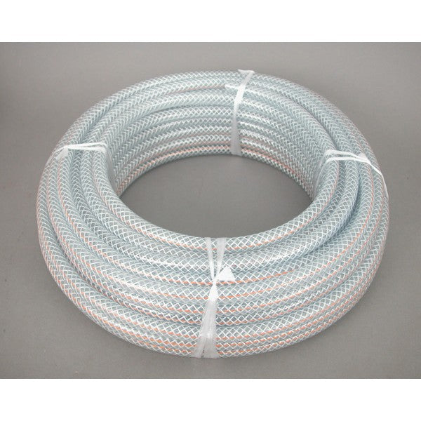 Hose Lab Clear Reinforced 6mm x 30m Roll