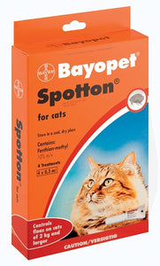 BAYOPET SPOTTON CATS 4X0.3ML
